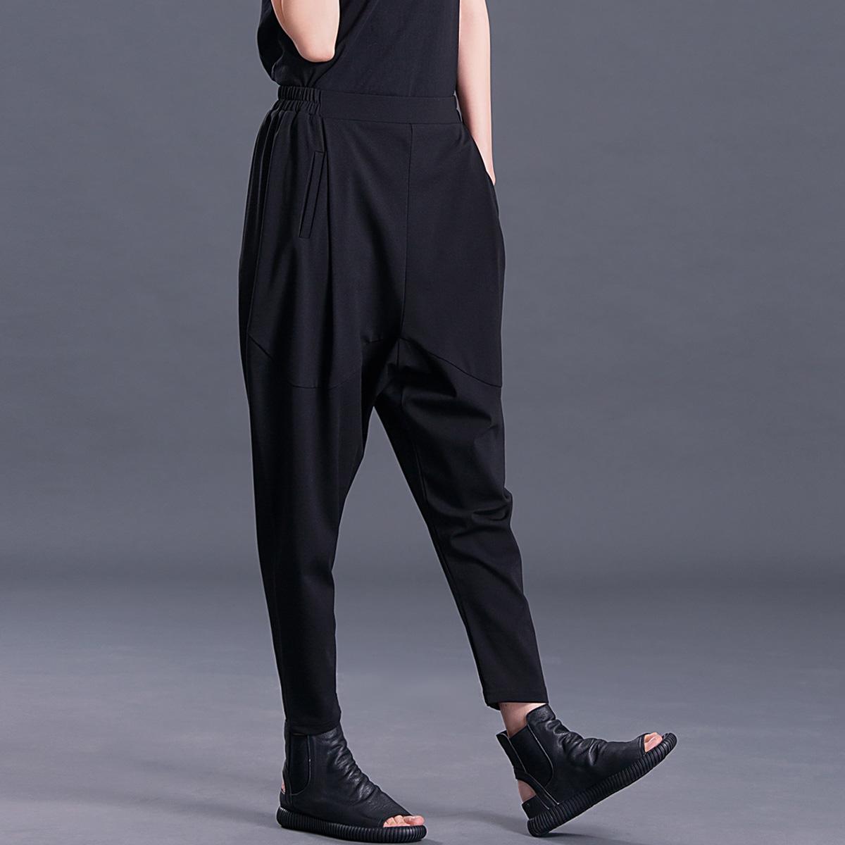 吊裆裤女裤