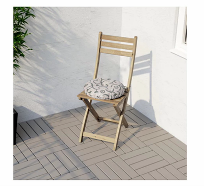 木质折叠餐椅