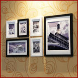 Miyaju 6 Frames Solid Wood Photo Wall Photo Wall Photo Frame Wall Big Frame Creative Combination