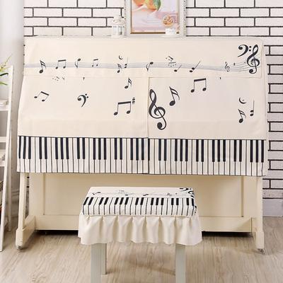 厂家直销卡通韩式印花钢琴罩半罩布艺防尘罩新品爆款推荐包邮