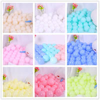 Marine ball wholesale factory direct wave ball toy ball non-toxic and tasteless thickening baby indoor ball pool color ball