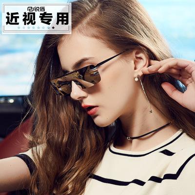 锐盾2018新款女士太阳镜夹片式墨镜偏光驾驶镜开车驾驶镜夜视眼镜