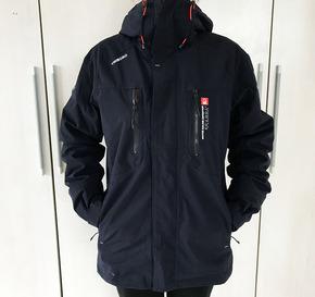 迪卡侬正品户外登山航海成人秋冬男士保暖防风防水冲锋衣棉服外套