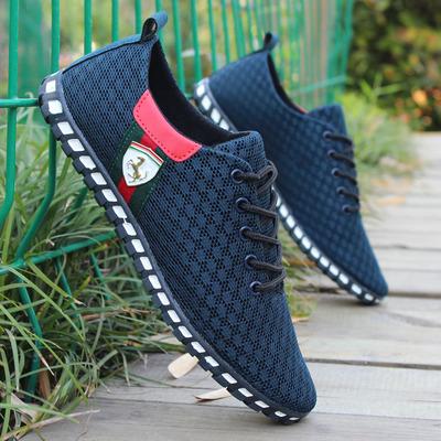 夏季男网鞋男运动鞋网面布鞋青少年超轻便透气鞋舒适软底鞋跑步鞋