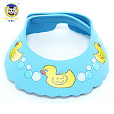 Dr. Ma baby shampoo cap bath cap shampoo cap children baby waterproof shower cap can be adjusted to send ear plugs