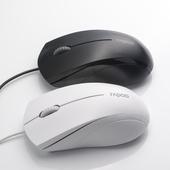 人体工程学设计,雷柏N1600静音有线鼠标
