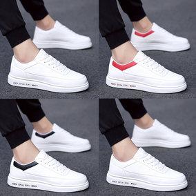 小白鞋男鞋子加绒棉鞋2018冬季韩版潮流白色板鞋男士休闲白鞋百搭