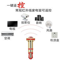 OPPO mobile phone infrared transmitter vivo Android Apple universal universal external air conditioner remote control accessories