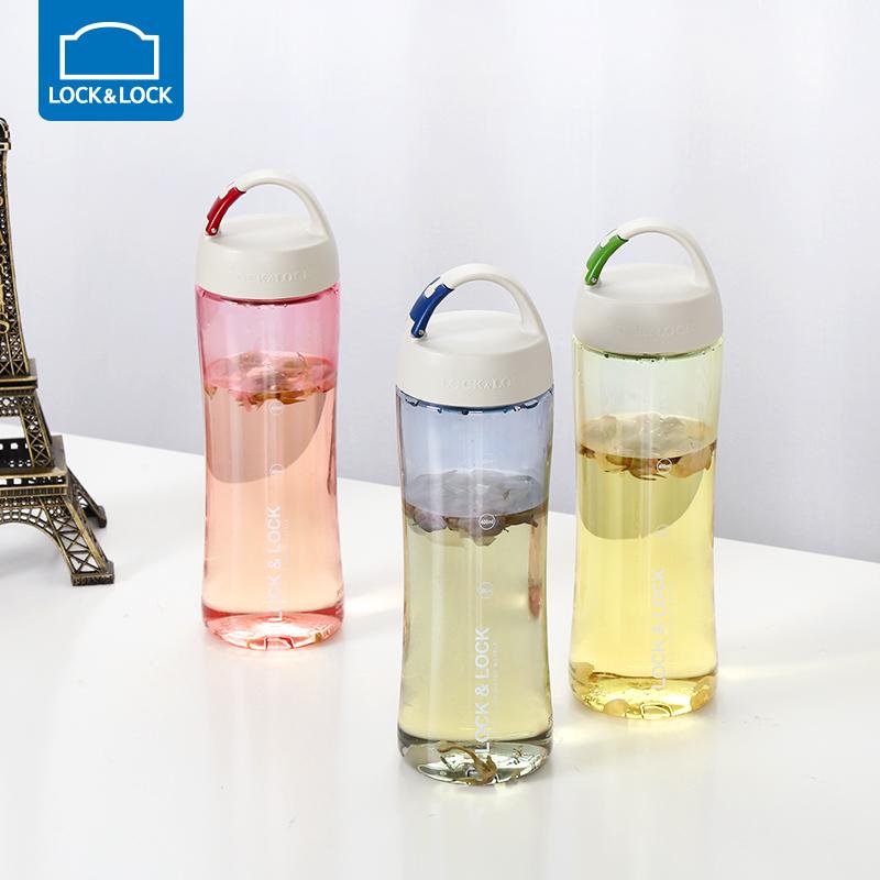 乐扣乐扣 塑料水杯运动户外旅行便携杯子学生男女 HLC801组合