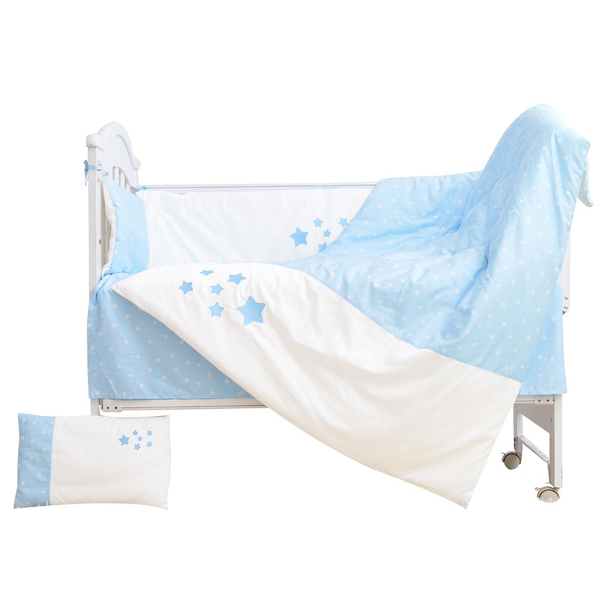 水星家纺 A类60支全棉婴儿宝宝全套床上用品十三件套新生儿40x25
