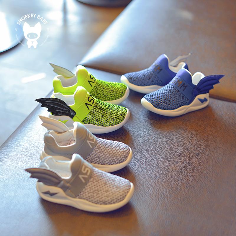翅膀透气童鞋