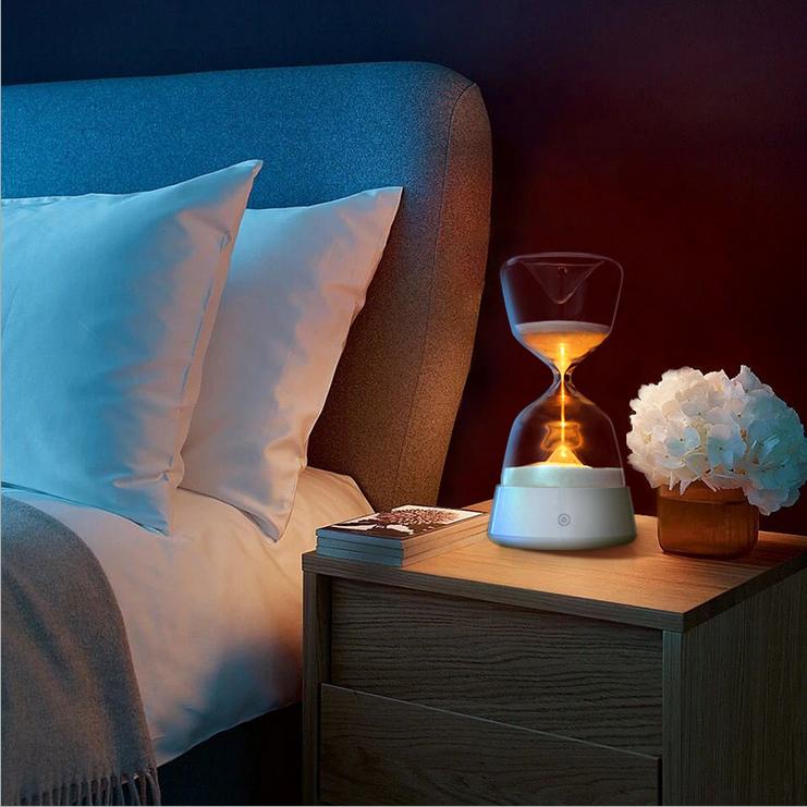 九猪沙漏伴睡小夜灯 时间沙漏摆件15分钟定时睡眠灯创意新奇礼物5元优惠券
