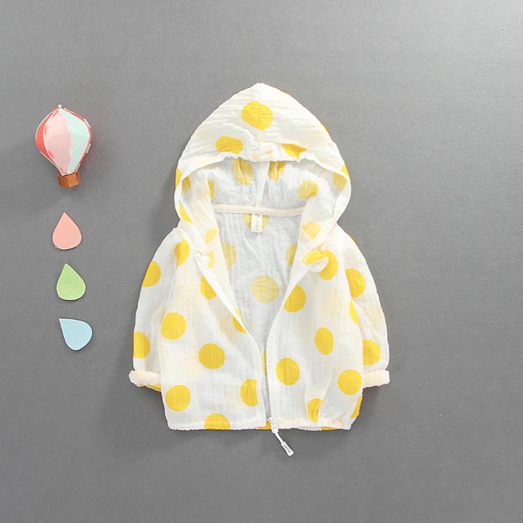 宝宝防晒衣女0-1-3岁女童外套夏季薄款透气潮6-12个月婴儿空调衫