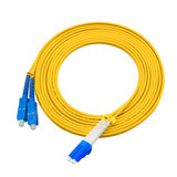 150 meters LC-SC singlemode duplex fiber jumper pigtail fiber jumper telecommunication engineering grade