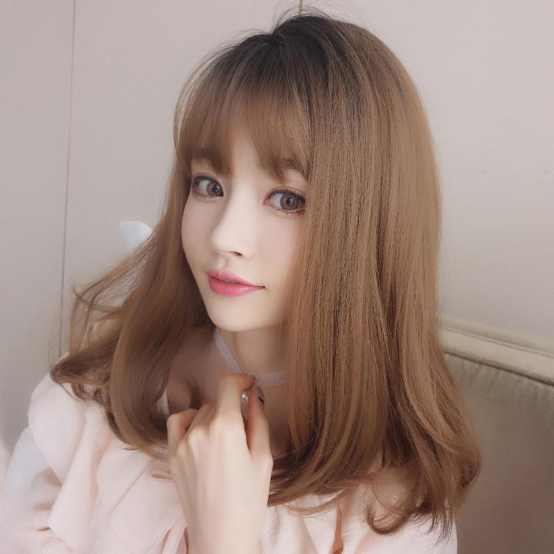 时尚齐刘海梨花