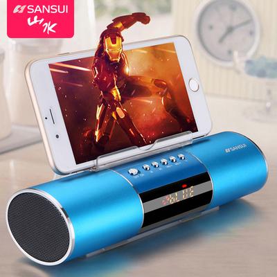 Sansui/山水 E19蓝牙音箱带插卡收音机MP3播放器手机平板小音响