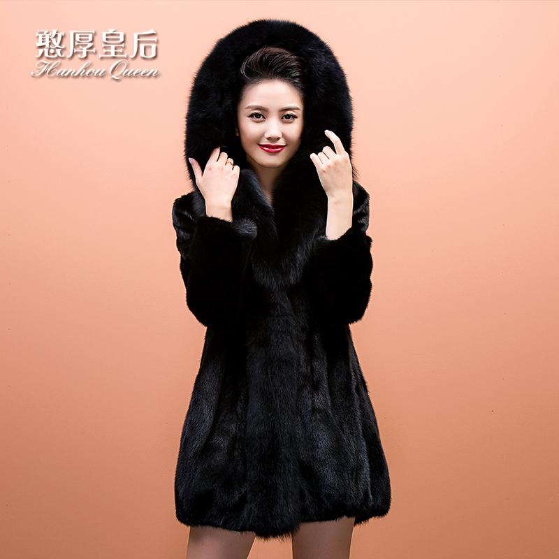 狐貍毛領皮大衣
