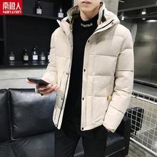 男生棉袄潮牌短款 羽绒棉服 工装 外套冬季2019新款 棉衣男士 加厚冬装图片