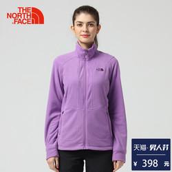 【经典款】TheNorthFace北面春夏新品舒适保暖女抓绒外套 3CGO