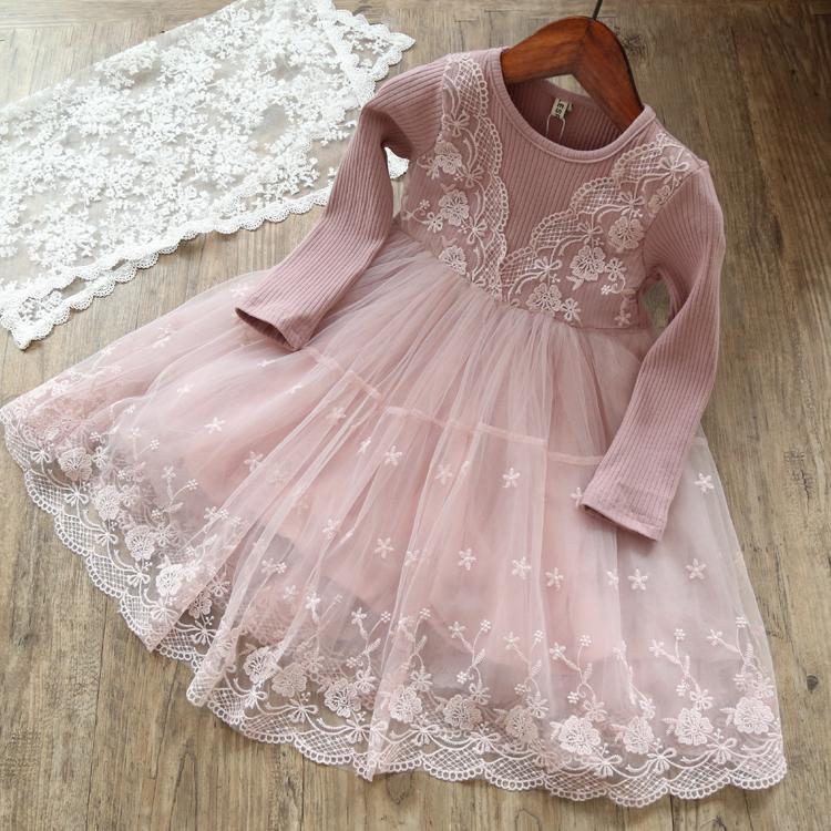 长袖纱裙冬