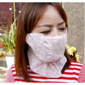 2017夏季新款韩国代购UNIY*品牌高尔夫用品女士防晒面罩脸罩GOLF