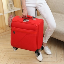 18-inch suitcase, lady pull-rod suitcase, Cardan wheel suitcase, small portable suitcase, suitcase, password boarding case, man
