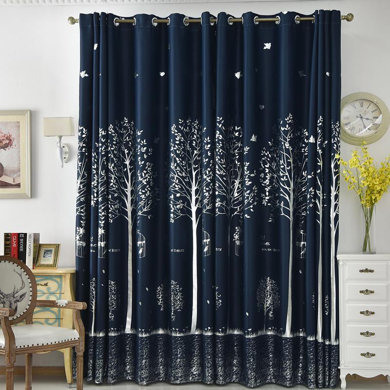 藏蓝色窗帘