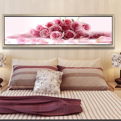 卧室床头装饰画客厅背景墙装饰 壁画 卧室画酒店床头挂画床头画
