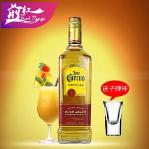 墨西哥原装进口Jose Cuervo豪帅金快活龙舌兰750ml特基拉正品洋酒