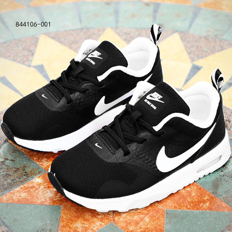 NIKE耐克跑鞋小童鞋男童女童气垫运动鞋缓震休闲跑步鞋844106-001