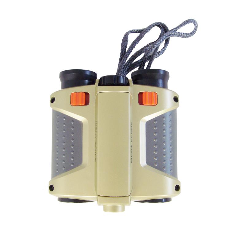 弹出儿童 望远镜式射灯绿膜夜视镜头望眼镜可调焦 生日礼物