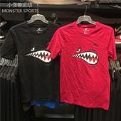 Nike/耐克 男子针织舒适纯棉运动休闲圆领短袖 AQ5525-010-620