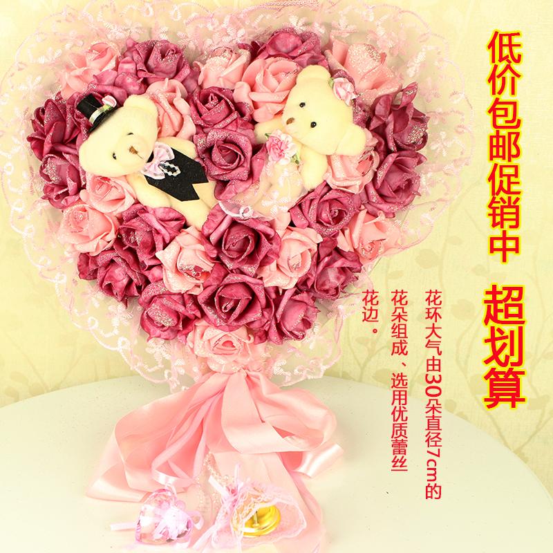 花环 玫瑰