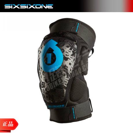 2014新款正品特价sixsixone661 RAGE knee山地自行车护膝护腿M/L