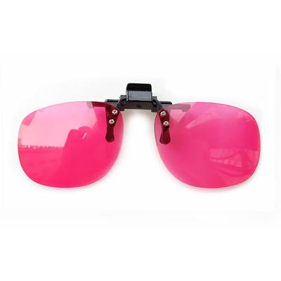 色盲眼镜 色弱矫正眼镜 色盲夹片 针对高度近视 远视佩戴眼镜夹片