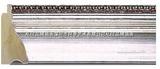 ALEE画框订制 6cm宽 3016定制银色实木金银箔油画框线 45元每米