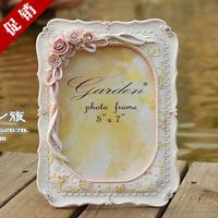 6寸7寸10寸欧式复古韩式田园婚纱照片相架 婚礼挂墙相框摆台XK34