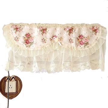 壁挂式空调罩 挂机空调套子 空调套 防尘罩 布艺田园蕾丝
