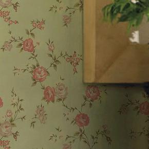 英国格兰布朗进口墙纸客厅沙发背景墙英式田园系列壁纸小花枝6色