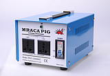 Genuine MRACAPIG war pig 110V to 220V 2000W transformer pure copper real power air switch