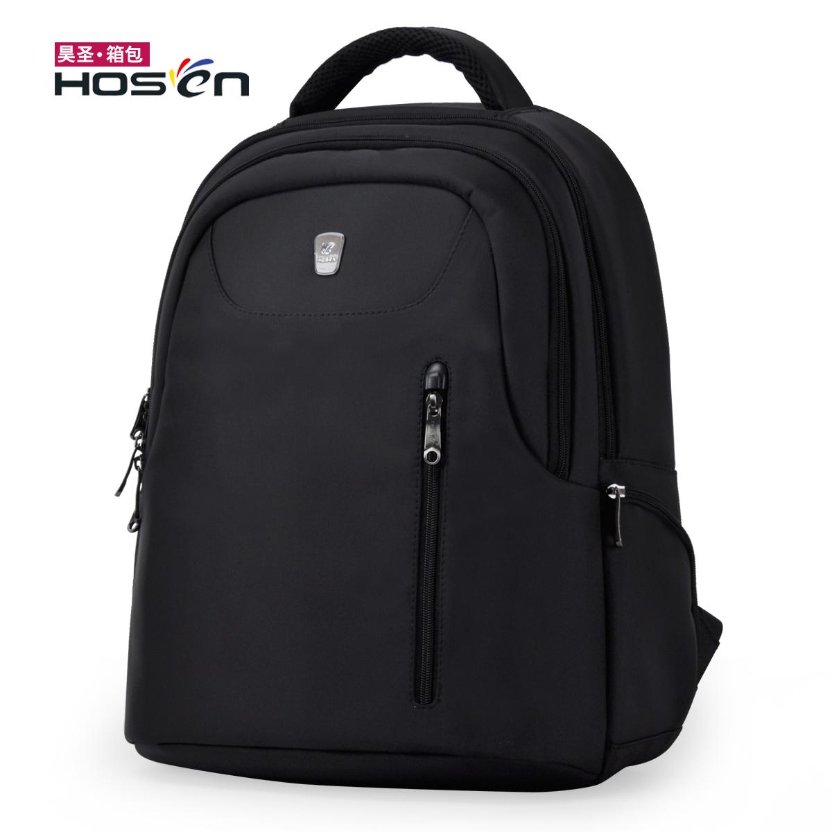 此款只接受定制-Hosen/昊圣361双肩背电脑包多功能商务休闲旅行包