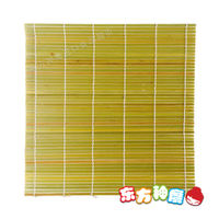 Sushi curtain / sushi mat / green bamboo curtain 27*27cm Seiko bold widening long spike all bamboo curtain