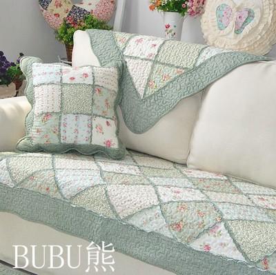 沙发垫布艺韩版