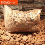 爬虫用品 陆龟乌龟树皮垫材宠物蜥蜴树皮颗粒垫材 500g 中小颗粒