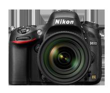 Nikon/尼康D610单反相机 24-120套机 全画幅单反 专业数码照相机