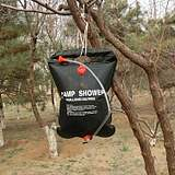 Carrying hot water bag outdoor solar bath bag 20L