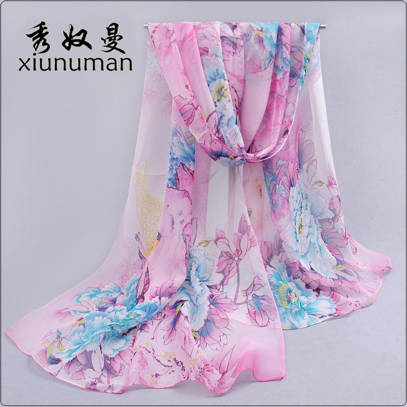 Женские шарфы из шифона Артикул 38673735588