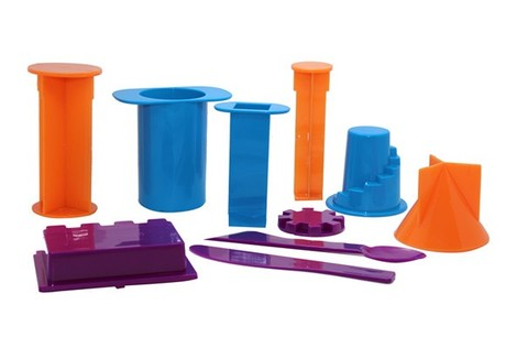 太空泥工具沙土玩具太空沙泥套装 女孩儿童沙泥黏土益智模具特价