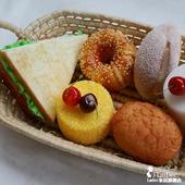 仿真面包道具橱柜饰品摆件 lmdec假蛋糕汉堡装饰糕点心蔬果模型