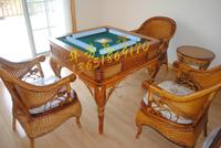 藤艺麻将桌